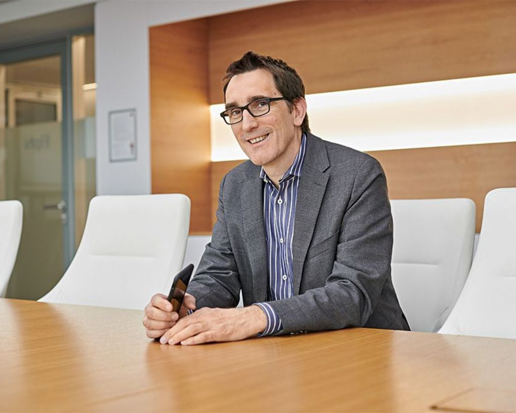 High investments: Dr Andreas Witzig, Member of the EOS Group's Board of Directors and responsible for the Western European and North American regions.